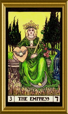 The Empress. Aphrodite, Tarot Major Arcana, Tarot Card Meanings, Witch Aesthetic, The Empress, Oracle Cards, Tarot Decks, Archetypes, Low Key