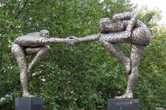 """Cross the Divide"" by Rick Kirby, St Thomas' Hospital, London"