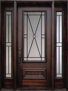 Wrought iron front door glasses 64 Ideas for 2019 Iron Front Door, Green Front Doors, Modern Front Door, Front Door Entrance, Front Door Colors, Glass Front Door, Iron Doors, Glass Door, Indoor Barn Doors