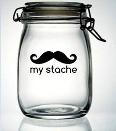 """A great change jar ... or """"tender mercies"""" (written on little slips of paper) jar.  :)"""
