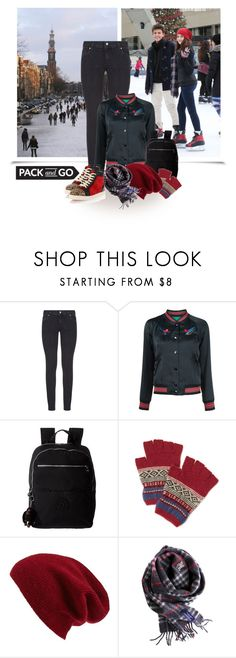 """""""Ice-skating in Amsterdam"""" by molly2222 ❤ liked on Polyvore featuring Paige Denim, Coach, Kipling, Halogen, Burberry, Christian Louboutin, iceskating, Amsterdam and Packandgo"""