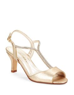 Delicia Gemstudded Sandal | Lord and Taylor