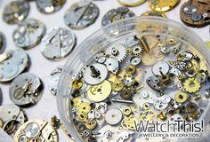 old watch mechanism