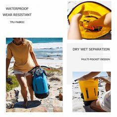 30-40L Waterproof Backpack Rucksack Dust Rain Cover Backpack Rain Protect Ba✔GQ