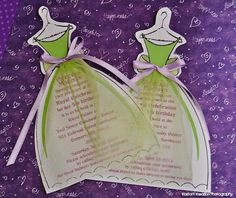 Princess and the Frog Invitations