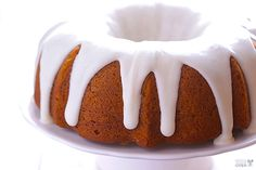 Gimme Some Oven | Pumpkin Spice Cake | http://www.gimmesomeoven.com