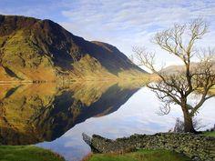 Crummock Water, Lake District, England