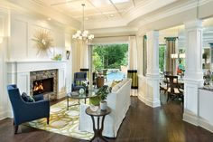 Arthur Rutenberg Homes Photo Gallery   All Rooms / Living Photos / Living Room.....KEEPER: GREAT ARCHITECTURAL BLING. I LIKE THE VISUAL WOW FACTOR (also a great alternative to walls)EFFECT BY SEPERATING THE ROOMS AS SEEN IN THE PICTURE. THIS IS ONE OF MANY GREAT WAYS TO SEPERATE ROOMS WITHOUT WALLS TO CONSIDER !!! 'Cherie  SEPERATING LIVING AREAS AS SHOWN IN THE PHOTO ALSO ENHANCES THE HOMES OPEN AND SPACIOUS DESIGN !!!! 'Cherie