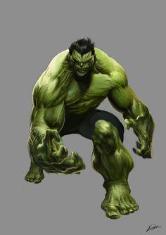 The Hulk by Alexander Lozano *
