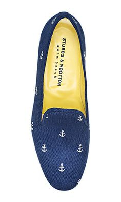Anchors Away Slipper Flats! #Stubbs&Wootton