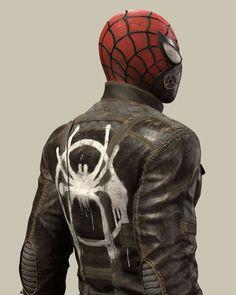 Post -Apocalyptic Spider - Man by daniel johnson Marvel Comics, Marvel Vs, Marvel Memes, Spiderman Marvel, Captain Marvel, Spider Art, Spider Verse, Superhero Cosplay, Halloween Disfraces