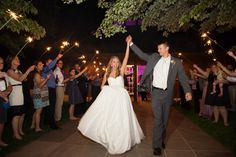 Sparklers make a great touch to end your Trump Winery wedding day perfectly!