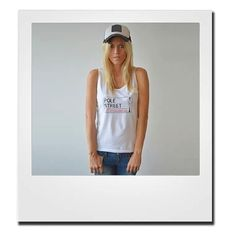 Signature style #tanktop in #white #clothing #polestreet #fashion #style #poledance #pole #life #london #british #sport Buy yours today at polestreet.com for only € 24.00