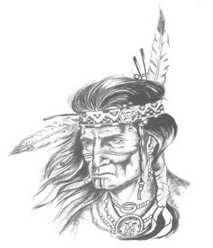 Native American by ArtisticAbomination.deviantart.com on @deviantART