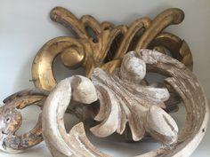 Gilt Carvings - Ornate - Decorative Antiques - Fragments