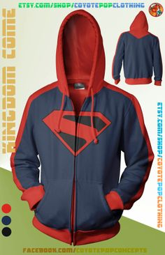 KIngdom Come Hoodie by CoyotePopClothing on Etsy, $69.00
