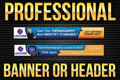 create Professional Web Banner or Header by binsintgames