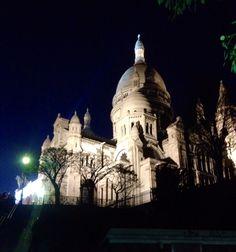 Sacre-cœur! Montmartre, Paris!
