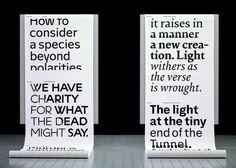 ECAL Graphic Design. Type, Print, Digital, Stories