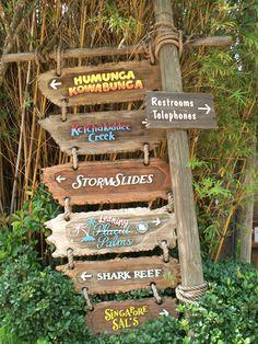 Disneys Typhoon Lagoon Water Park Map Walt Disney Trip In 2019