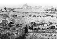 Detalhe do panorama circular de Burchell
