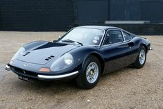 Dino 246 GT with Le Mans light covers a must.