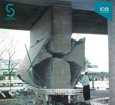 UHPC Ultra High Performance Concrete to prevent and repair earthquake damage. Fibre reinforced UHPC is a high strength, ductile materia… in 2019 Civil Engineering Design, Civil Engineering Construction, Architectural Engineering, Engineering Disasters, Engineering Memes, Ing Civil, Autocad, Earthquake Damage, Construction Fails