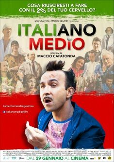 Italiano medio, dal 29 gennaio al cinema.