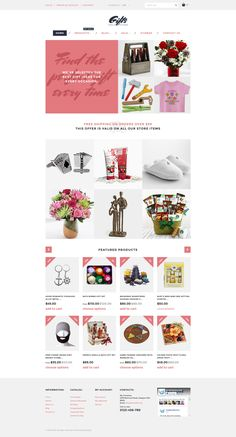 Shopify Theme , Gifts Online Store