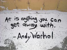 Em um muro inspirado por aí.