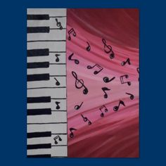 Hear the Music Piano Poster