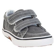 Sperry Top-Sider Boys Toddler Halyard Boat Shoe #VonMaur #Sperry #Velcro