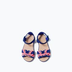 KNOTTED SANDAL from Zara