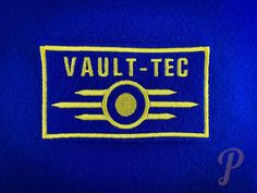Vault Tec, Vaulting, Badge, Patches, Iron, Ornaments, Etsy, Inspiration, Inspired