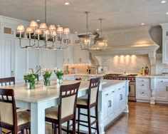 3rd Place Large Kitchen designed by Nicholas Geragi, CKD, CBD. Photo by Klaff's. Visit NKBA.org/ProSearch to find an NKBA professional near you- turn your dreams into reality!