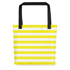 Horizontal Yellow Stripes Tote bag by CoolFunAwesomeTime on Etsy @etsy @printful #bag #bags #tote #totes #totebags #totebag #fashion #style #accessories #accessory #products #fashion #style #minimal #modern #chic #modernstyle #stripes #pattern #stripe #patterns #abstract #etsy #printful #buy #sale #shop #shopping #want #need #love #like #yellow #yellowstripes