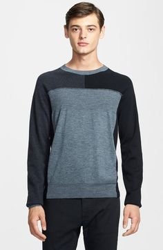MARC BY MARC JACOBS Multi Mélange Colorblock Merino Wool Sweater available at #Nordstrom