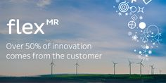 Over 50% of innovation comes from the customer