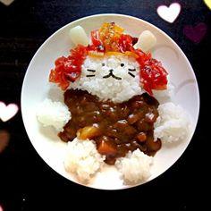 ヒコにゃんカレー by poohtohachi at 2013-8-31[スナップディッシュ]写真で見つかるみんなの料理・レシピが270万皿