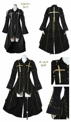 New fashion clothes women dressings 55 Ideas Cosplay Outfits, Anime Outfits, Cool Outfits, Gothic Mode, Gothic Lolita, Kawaii Clothes, New Fashion Clothes, Fashion Outfits, Fashion Ideas