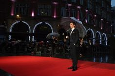 #NeverForget. | Benedict Cumberbatch Makes One Lucky Umbrella's Dreams Come True