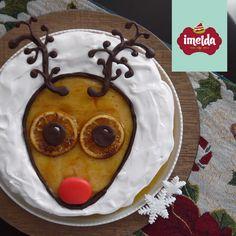 Cheesecake de camote y naranja decorado con salsa de naranja, chips de naranja y chocolate. #rodolfoelreno #imelda #creaalgounico  www.imelda.pe