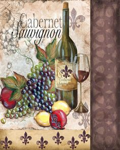 View album on Yandex. Decoupage Vintage, Decoupage Paper, Vintage Paper, Wine Art, Italian Art, Wine Time, Kitchen Wall Art, Wine And Beer, Ornament