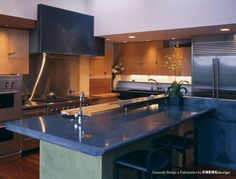 Blue Louise Granite Countertop With A Farm Sink I Really