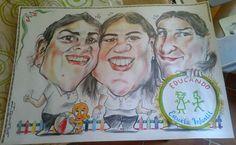 #caricatura a color con #logotipo incluido, haz tu pedido online http://www.elcaricaturas.com/