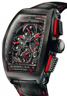 cvstos watches | Cvstos | Challenge Chrono GP Monaco | Steel | Watch database watchtime ...