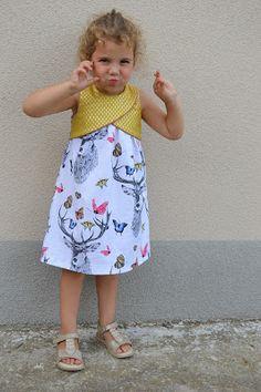 Cas & Nina: TULIP dress #1