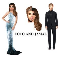 """""""COCO & JAMAL (Don't Save)"""" by drag-mazing ❤ liked on Polyvore featuring Dolce&Gabbana, Thierry Mugler and Lime Crime"""