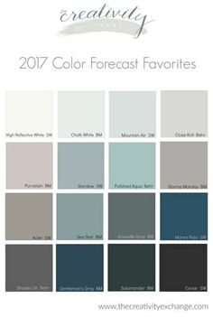 2017 Paint Color Forecast Recap.