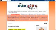 PARA PROFES Y PADRES: RECURSOS PRIMARIA